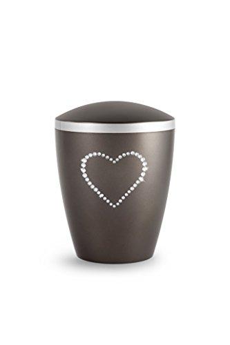 Urns UK Ventnor Kristal Hart, Chocolade