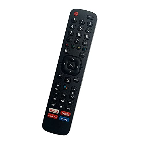 Replacement Remote Control Suitable for TV/AC for Hisense H8F H9F 65H8F 65H9F Smart 4K TV