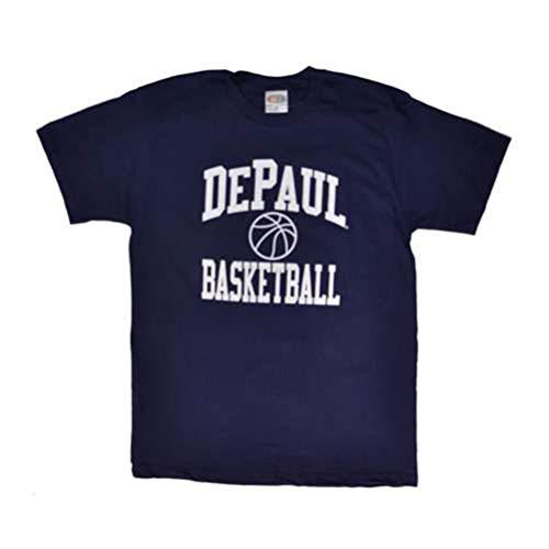 Champion DePaul T-Shirt - Basketball, Navy - Men - M