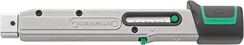 STAHLWILLE 730/4 QUICK Drehmomentschlüssel MANOSKOP auslösend 8-40 N·m Werkzeugaufnahme 9x12 mm für Einsteckwerkzeuge, Nm