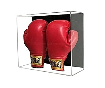 GameDay Display Acrylic Wall Mount Double Boxing Glove Display Case