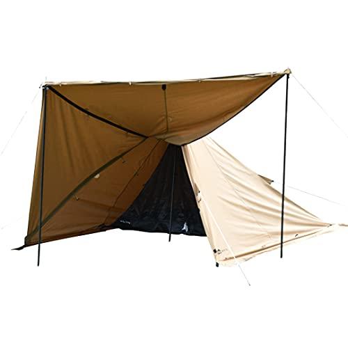 WAQ Alpha TC 1人用テント ソロ用テント TIPIテント ワンポールテント