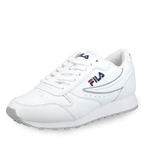FILA Orbit, Zapatillas Mujer, Blanco (White), 39 EU