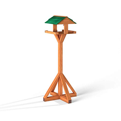 Maypole Anti-fungal Heavy Duty Bird Table Flat-Pack Design Hand Made in the UK