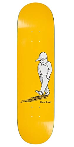 Polar Skate Co. Planche de skate Alone Dane Brady Yellow Deck 8.25\