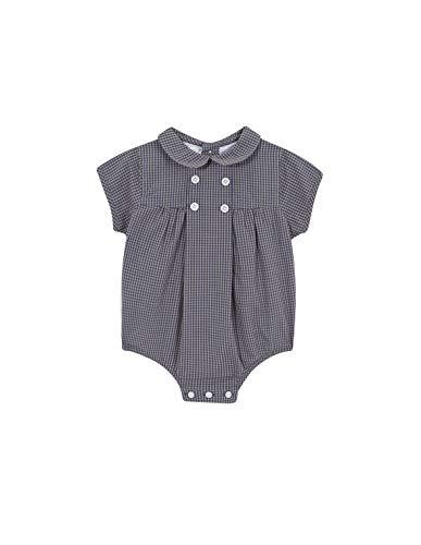 Gocco Ranita Cuadro Vichy Mono, Marrón (Marrón Claro Me), 92 (Tamaño del Fabricante:18/24) para Bebés