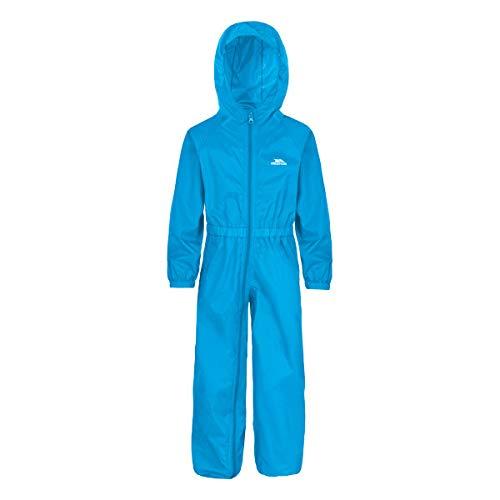 Trespass - Button - Combinaison de Pluie - Enfant - Bleu Cobalt - 12-18 mois
