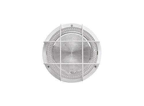 Fenoplástica 7200 B FNP Aplique de Pared E27, 100 W, Blanco