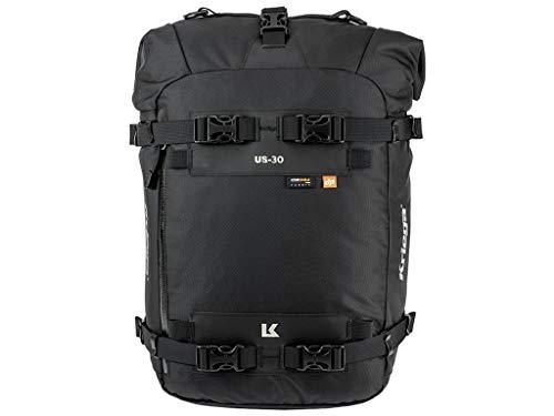Kriega US-30 Drypack Motorrad Tasche Wasserdicht 30 L Satteltasche Heck Rahmen Tank Universal, KUSC30