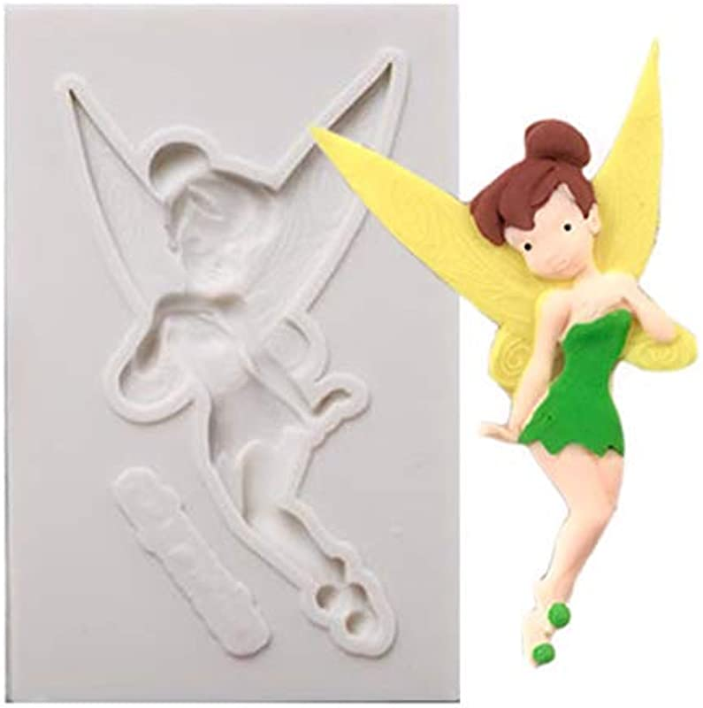 Tinkerbell Full Body Silicone Mold Fondant Chocolate Craft