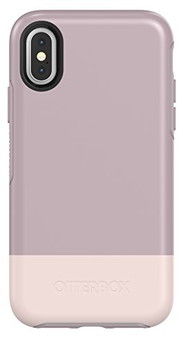 OtterBox SYMMETRY SERIES Case for iPhone Xs & iPhone X - Retail Packaging - SKINNY DIP (WHTE/PALE MAUVE/SKINNY DIP)
