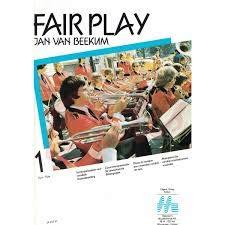 Jan Van Beekum FAIR PLAY stem voor klarinet of trompet (in Bb)