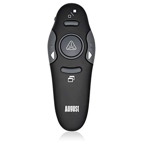August LP205R – El apuntador láser con compatibilidad universal