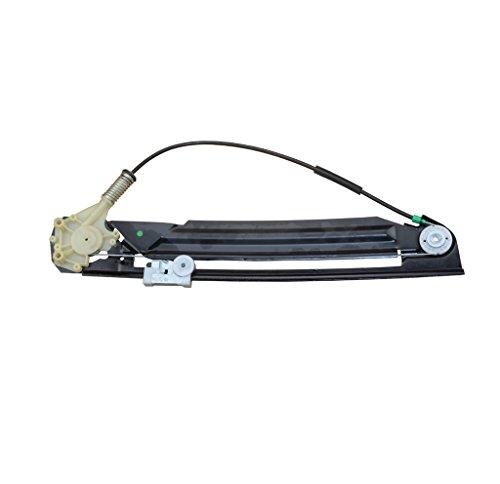 A-Premium Power Window Regulator without Motor for BMW E39 525i 528i 530i 540i M5 2000-2003 Rear Right Passenger Side