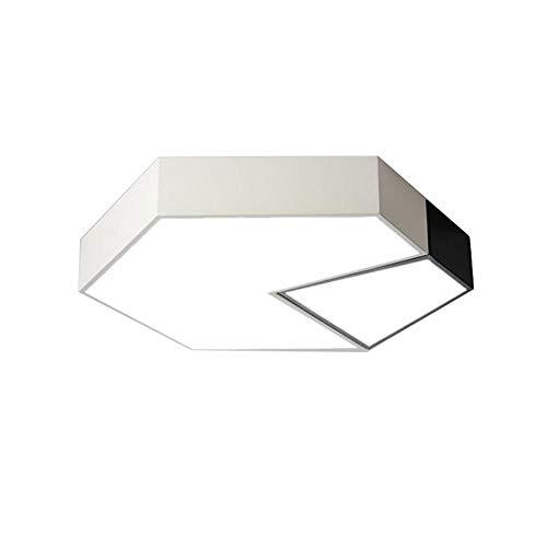 Led-plafondlamp, 28 watt, geen blauw licht, waterdicht, driekleurige verduisteringsverlichting, voor restaurant, slaapkamer, enz. Monochroom.
