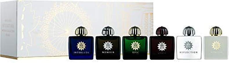 AMOUAGE Miniatures Bottles Collection III Women EDP 6 x 7,5 ml + 3 Amouage Sampler Vials - Free