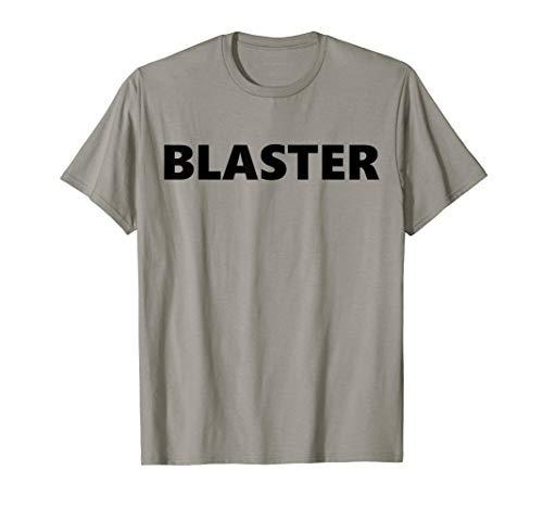 Blaster 1980's Arm Wrestling nostalgic Humor T-Shirt