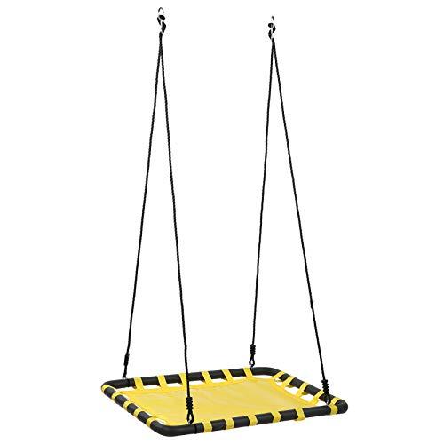 Snufeve6 Baumschaukel, stärkste große Mattenschaukel, für Heim Freizeit Garten, Balkon spielende Kinder