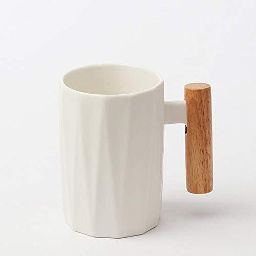 Mango de madera taza de café de cerámica taza de café taza de leche nórdica pequeña mano fresca taza de cerámica regalo de dieta 400 ml-03
