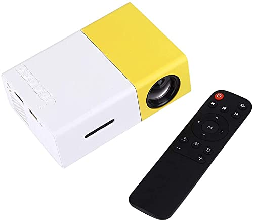Kettles Mini Proyector 400-600 Lumens LED Proyector HD House Theater con 3 en 1 Video Convert Cable Impertinent Controller for Home Theater Movie Party Game Outdoor Entertainment