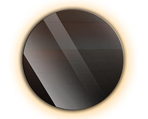 Ramix Runder Spiegel mit LED Beleuchtung, Wandspiegel, Badspiegel, Zimmer, LED-Farbe: Warmweiß, Größe: 70 cm Durchmesser