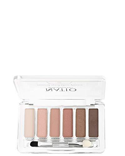 Natio Mineral Eyeshadow Palette - Petals, Pink, 6 g
