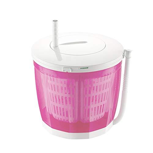 Partiy Tragbare handbetriebene manuelle Nicht elektrische Waschmaschine und Wäschetrockner, Mini Desktop Waschmaschine/Trockner Camping, 3 kg große Kapazität