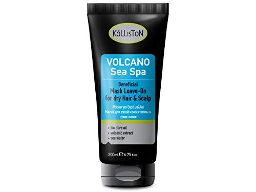 Kalliston Sea Spa Volcan Masque pour Cheveux/Crâne Secs