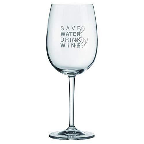 Räder Vino Rotweinglas Save Water Drink Wine
