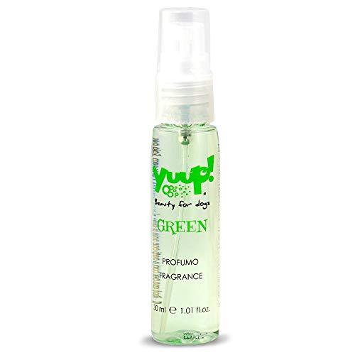 "Yuup!® Haustierparfüm ""Colour your style with fragrance"" (Grün) 30ml"