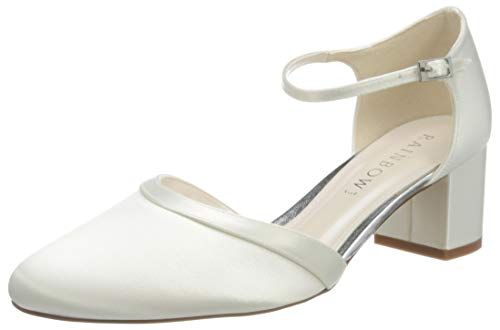 Rainbow Club Damen Stacy Pumpe, Ivory Ceme, 39 EU