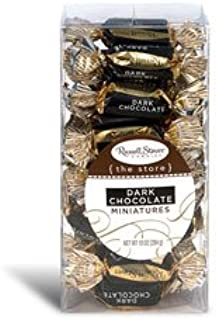 Russell Stover Dark Chocolate Miniatures, 10 oz. Box