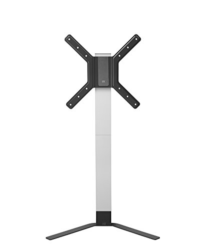 """One For All TV Stand – Screen size 32-60"""" - NO drill solution – Elegant designed TV Bracket for all types of TVs – Height adjustable – Tilt 15° WM6471"""