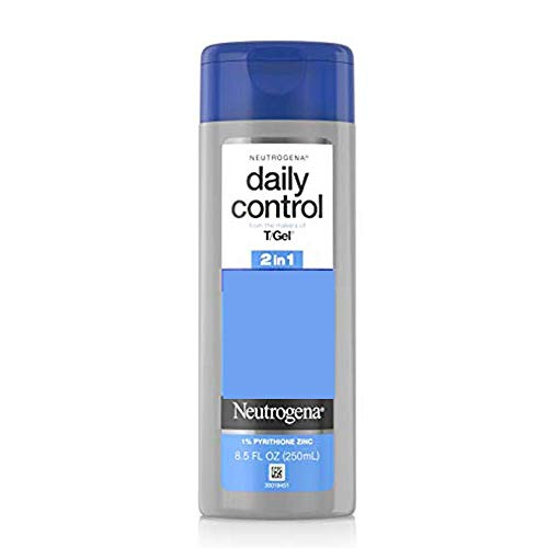 Neutrogena T/Gel Daily Control 2-in-1 Anti-Dandruff Shampoo Plus Conditioner with Vitamin E and...