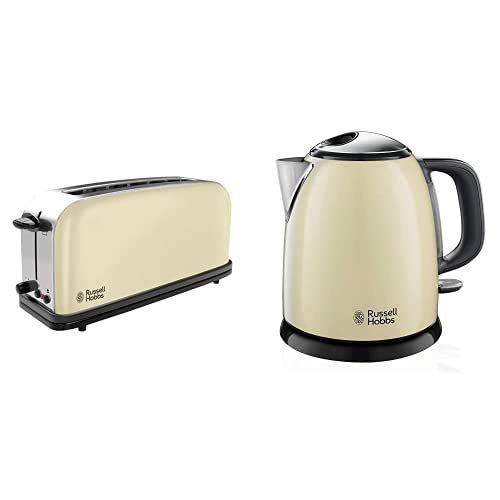Russell Hobbs Colours Plus 21395-56 – Tostadora, Ranura Larga y Ancha, para...