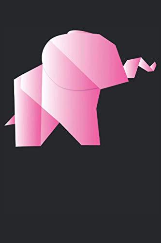 Origami Papier Elefant Polygon Tier Geschenk Notizbuch (Taschenbuch DIN A 5 Format Liniert): Origami Elefant Geschenkidee Notizbuch, Notizheft, ... gerne Origami falten oder mit Papier basteln.