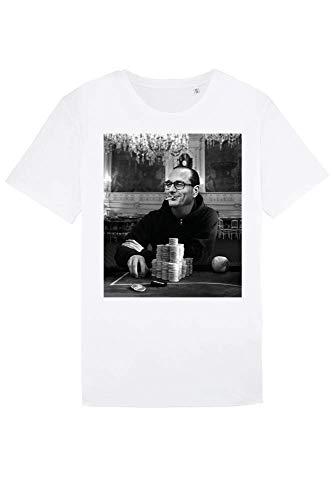 Gambling Chirac - T-Shirt Homme - Poker - Idée De Cadeau...