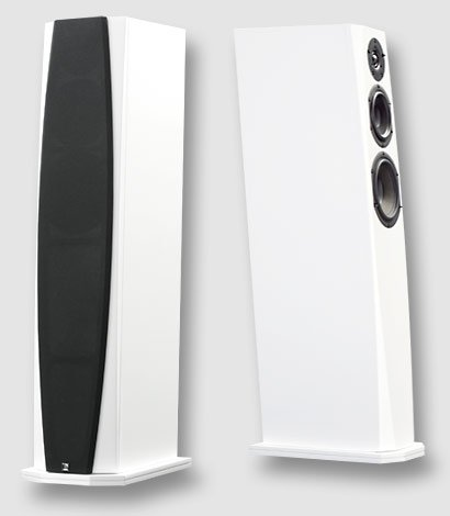 Phonar Veritas p6 Next | hochglanz Weiß | Paarpreis