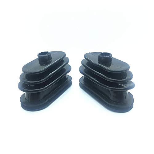 MeiZi Fit für Daewoo Doosan DH55 60 80-7 Bagger Reise Push Stab Staubdichte Abdeckung Joystick Griff Gummi Staubabdeckung Bagger Zubehör (Color : 2pcs)