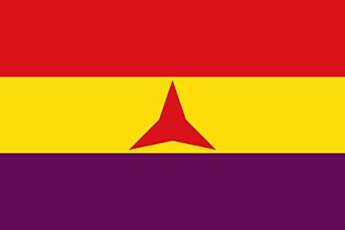 Durabol Bandera ESPAÑA Republicana Brigadas Internacionles 150x90cm