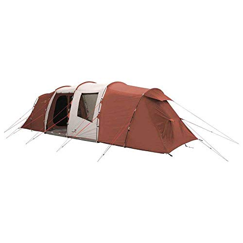 Easy Camp Huntsville Twin 800 Tente de camping Rouge/gris clair