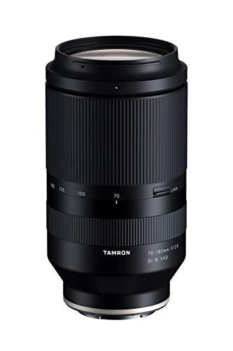 Tamron 70-180mm F/2.8 Di III VXD for Sony Full Frame/APS-C E-Mount, Black (Renewed)