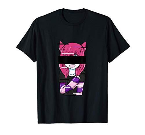 Anime Manga Comic Zeichnung Geschenk Spruch Japan geek nerd T-Shirt