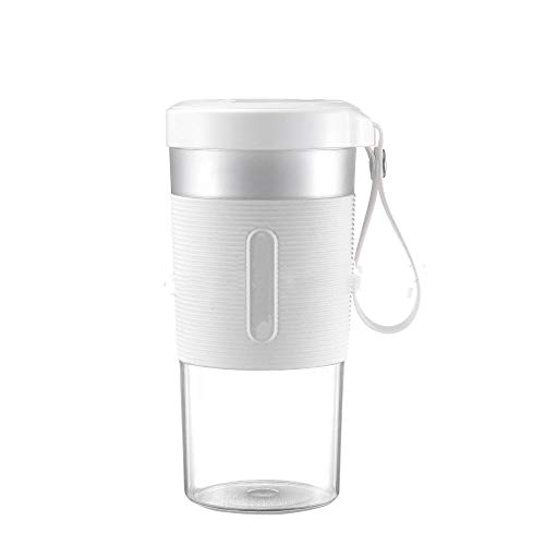 SUDOOK Mini juicer Electric Portable Multi-Function USB Charging juicer Cup Fruit Electric Juice Mixing Cup-White_7.4V