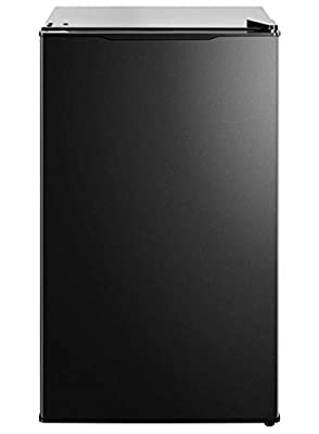 Midea MRM31A4ABB Compact All Refrigerator, Thermoelectric Mini 3.1 Cubic Feet-for Home, Office, Dorm, Fridge Black