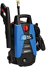 AR Blue Clean, New Electric Pressure Washer, BC111HS, 1600 psi, 1.7 GPM, Nozzles, Spray Gun, Wand, Detergent Bottle & Hose, Compact Design and Light Weight Make This Super Portable
