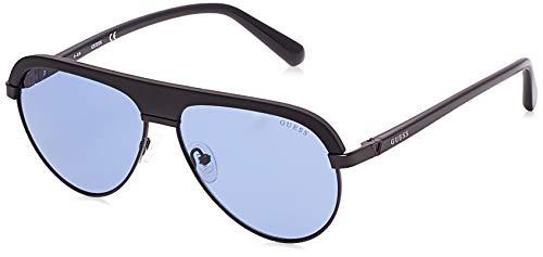 Guess GU6937-02V-59 - hombre Gafas de sol - Matte Black/Blue