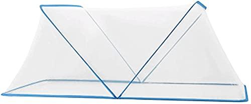 SDKFJ Tela mosquitera Mosquitera portátil, mosquitera, Tienda, mosquitera, Cubierta para recién Nacidos, Campamento, Tela, Malla, Refugio para niños Mosquito Net (Color:Blue;Size:M)
