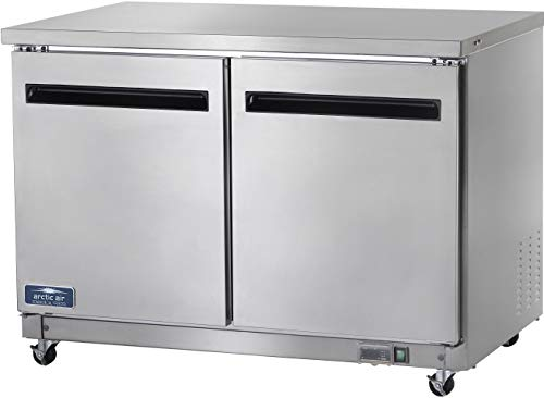 "Arctic Air AUC48F 48"" Undercounter Freezer - 12 cu. ft."