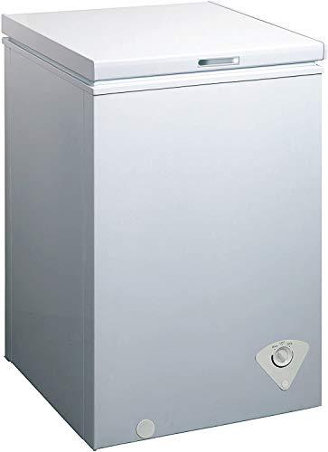 WHS-129C1 Single Door Chest Freezer, 3.5 Cubic Feet, White